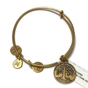 Alex and Ani Gold Tree of Life II Bracelet